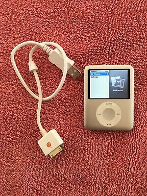 4GB Silver Apple iPod Nano 3rd Gen A1236