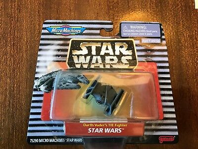 "Galoob Star Wars 1998 Mirco Machines ""Darth Vader's TIE Fighter"" 75290"
