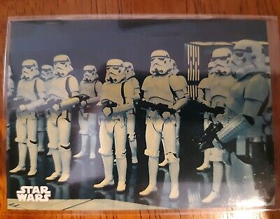2018 Topps Star Wars Black & White A New Hope #69 THE IMPERIAL STORMTROOPER BLUE