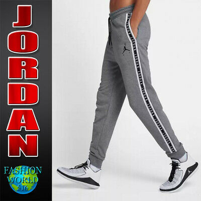 f80f54296a4 Nike Men's Size L Jordan Jumpman Air HBR Pants Carbon Heather/Black AR2250  091