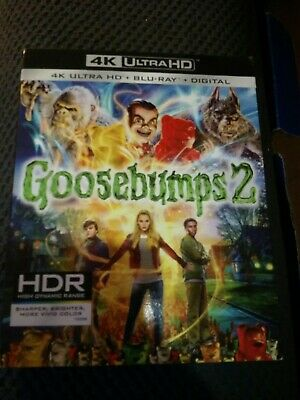 Goosebumps 2 blu-ray dvd digital⭐BRAND NEW⭐ BUY IT NOW FOR UNDER $10