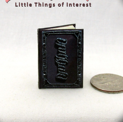 DARKHOLD GRIMOIRE THE BOOK OF SINS Miniature Book Dollhouse 1:12 Scale Marvel