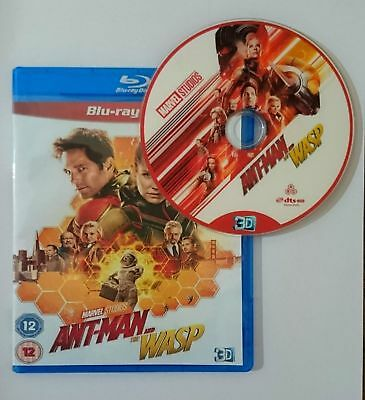 Ant-Man and the Wasp [3D Blu-ray Disk] **Region Free**