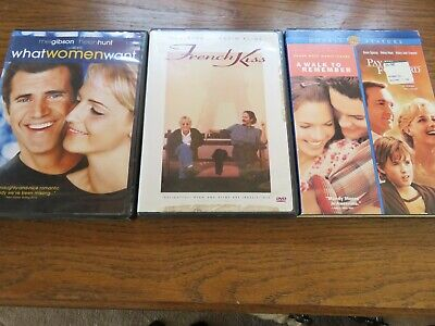 LOT of 3 GOOD DVD DVDs WHAT WOMEN WANT FRENCH KISS PAY IT FORWARD WALK Remember