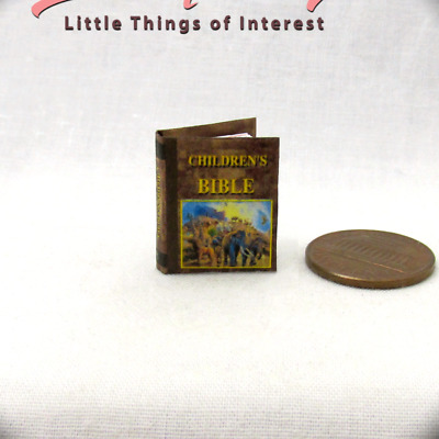 AESOP/'S FABLES Illustrated Readable Miniature Book Dollhouse 1:12 Scale Book