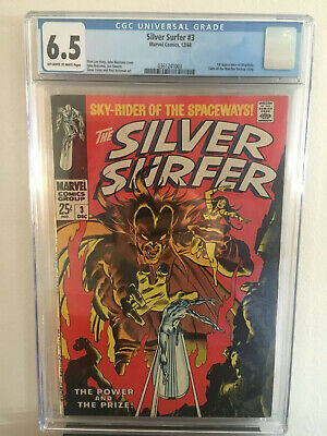 Silver Surfer #3 6.5 CGC OW/W Pages - 1st Appearance: Mephisto