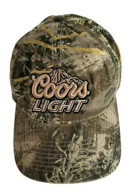 622f88e891153 Camouflage Coors Light Baseball Snapback Trucker Hat Baseball Cap Hunting