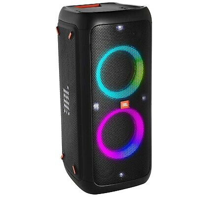 JBL PartyBox 300 Portable Bluetooth Party Light Speaker w Rechargeable Battery