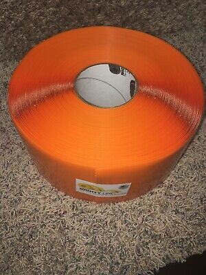 "MIGHTY LINE 4RO Industrial Floor Tape, Solid, Continuous Roll, 4"" Width"