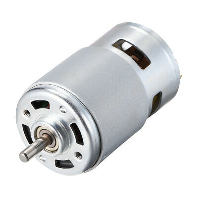 Micro DC Motor 24V 10000RPM 0.3A Magnetic D Shaft for RC Boat Toys DIY Hobby