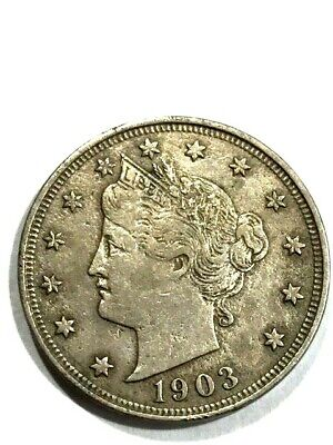 1903 Liberty head Nickel - Very Very High Grade