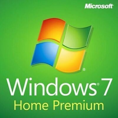 Windows 7 Home Premium 32-Bit New Install Recovery Repair Boot DVD Disc SP1