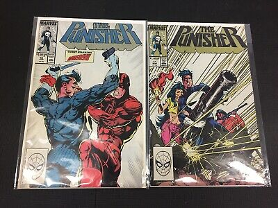 The Punisher #10 & 11 Guest Starring Daredevil Marvel Comics Combine Shipping