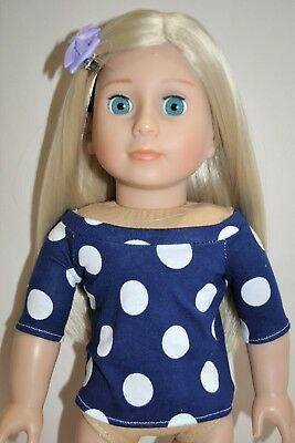 American Girl Dolls Our Generation Journey 18 Inch Doll Clothes Boat Neck Top