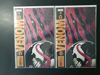 Venom #11 - Marvel Comics Gibbons Watchman Variant Cover - 2 copies