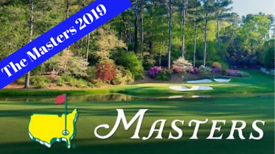 2 Masters Golf FRIDAY Tournament Tickets / Badges April 12 2019 (PAPER)