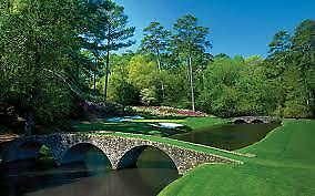 2 Masters Golf SUNDAY Tournament Tickets / Badges April 14 2019 (PAPER)