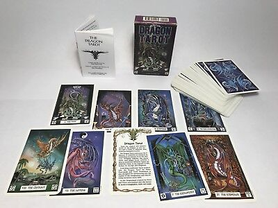 Dragon Tarot Deck Cards NEW IN BOX US Games 78 Cards w/ Booklet Peter Pracownik