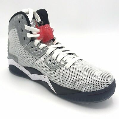 Jordan Spike Forty PE Mens 807541-101 White Fire Red Basketball Shoes Size 8
