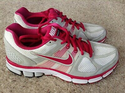 official photos 7335d 31eea NIKE PEGASUS 28 Athletic Running Shoes White Pink 443802-162 Womens Sz 9