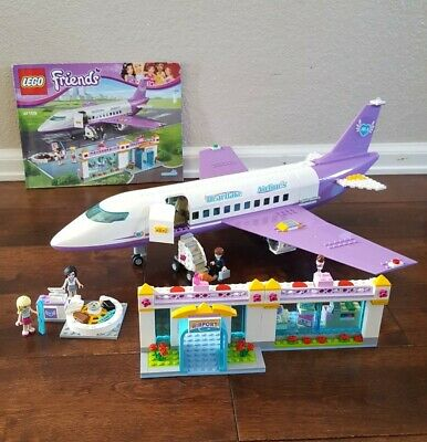 Lego Friends Heartlake Airport 41109 995 Complete Includes