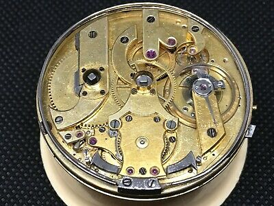 *** Repeater pocket watch movement for parts or repair ***