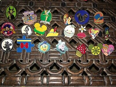 21 Disney Pin Trading Assorted Pin Lot - Brand NEW Pins - No Doubles - Tradable