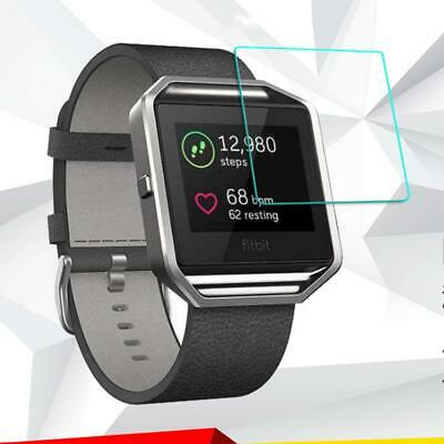 Premium Tempered Glass Screen Protector Guard for Fitbit Blaze Smart Watch