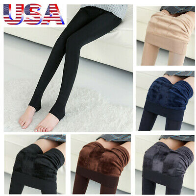 08d684466081d 5Pcs Womens Thermal Pantyhose Warm Fall Winter Tights Stockings Trousers  Pants