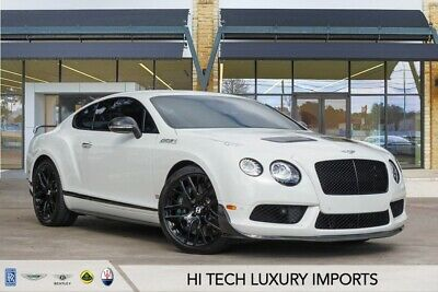 2015 Continental GT GT3-R 2015 Bentley Continental GT GT3-R 4,963 Miles  2D Coupe 6.0L W12 Twin Turbocharg
