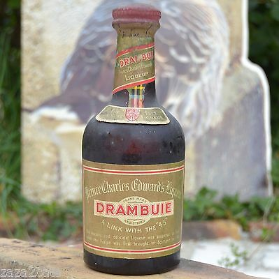 Bouteille 35Cl Drambuie 70° Proof Probable 1950 1960 Prince Charles Edwards