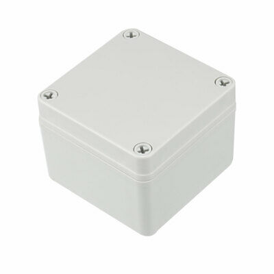 100 x 100 x 75mm Electronic Plastic DIY Junction Box Enclosure Case Gray