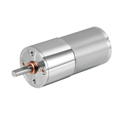 12V DC 100 RPM Gear Motor High Torque Reduction Gearbox Centric Output D Shaft
