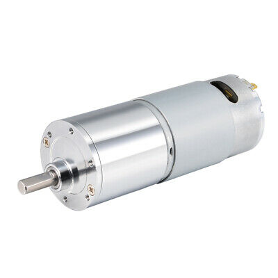 12V DC 10 RPM Gear Motor High Torque Reduction Gearbox Eccentric Output Shaft