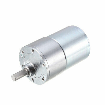 12V DC 300 RPM Gear Engine High Torque Reduction Gearbox Eccentric OutputD Shaft