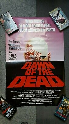 DAWN OF THE DEAD original poster! USA sheet- collector's item George A. Romero