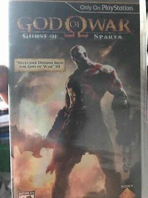 God Of War - Ghost Of Sparta Sony Psp Game Brand New