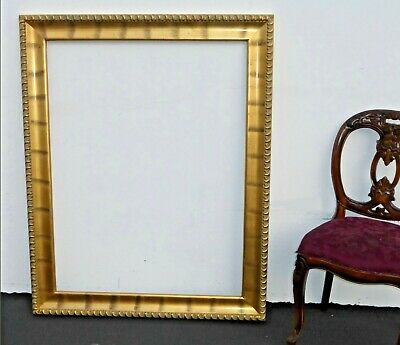 """Gorgeous Large Gold Gilt Wall Mantle Picture Frame Designer Frame 50""""H x 40""""W"""