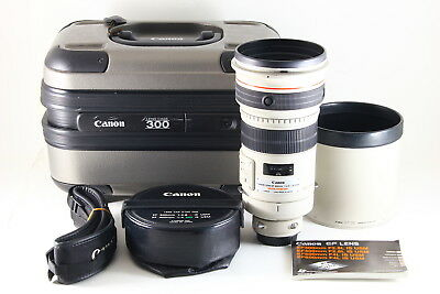 [AB- Exc] Canon EF 300mm f/2.8 L IS USM AF Lens w/Trunk, Hood From JAPAN 5217