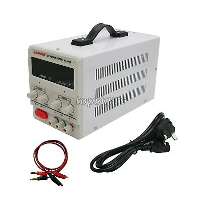 MS3010D Precision Switchable DC Power Supply Regulator LED 30V 10A Adjustable UK