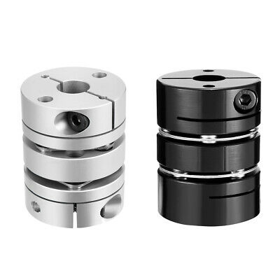uxcell 15mmx19mm Clamp Tight Motor Shaft 2 Diaphragm Coupling Coupler