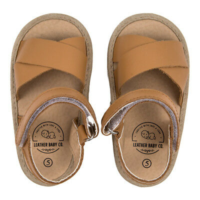 Genuine Leather Pre-Walkers Baby/Toddler Shoes by Leather Baby Co Size 3, 4, 5