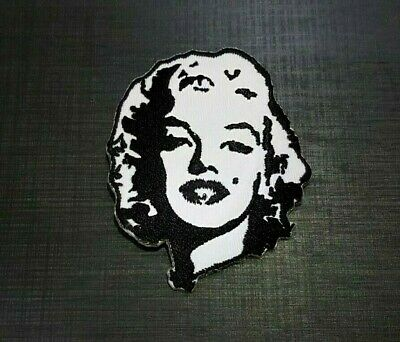 Marilyn Monroe Iron// Sew on patch badge Hollywood