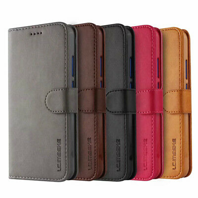 For Huawei P Smart 2019 P20 Pro P10 Lite Magnetic Flip Leather Wallet Case Cover