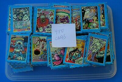 Oddbodz Cards Bulk Lot Of 980 In Good To Very Good Condition Blue Cards