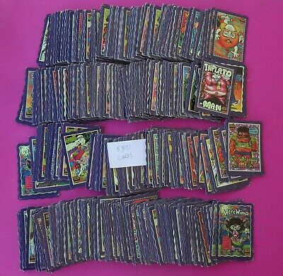Oddbodz Cards Bulk Lot Of 580 In Good To Very Good Condition Purple Cards