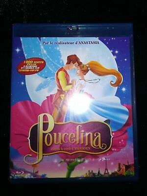 Blu-Ray Poucelina d'après Andersen VF NEUF sous blister Don Bluth Anastasia