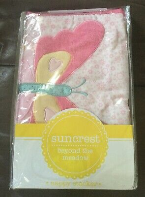Nappy stacker for baby girl
