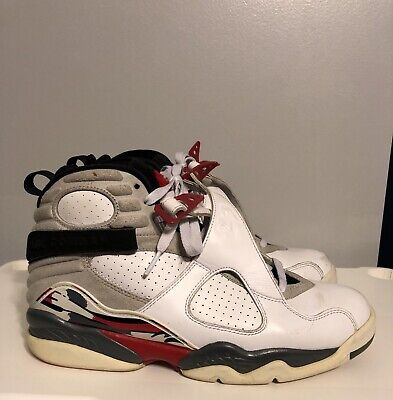 90fd75c3afd155 NEW 1997 VINTAGE Nike Air Jordan XIII   White-True Red-Black   Size ...