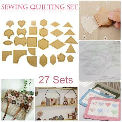 27pcs Mixed Handmade DIY Tools Patchwork Quilter Quilting Supply